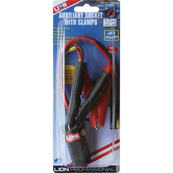 Lion Auxilliary Socket with Clamps & Fuse