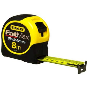 Stanley FatMax Tape Measure 8m/26'