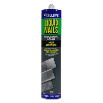 Selleys Liquid Nails Adhesive Mirror Metal Glass 310g