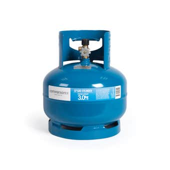 """Companion Gas Cylinder LH Thread 3/8"""" 3kg"""