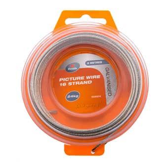 Zenith Wire 16 Strand Galvanised 5m - 1 Pack