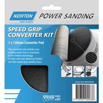 Norton Speed Grip Converter Kit 125mm