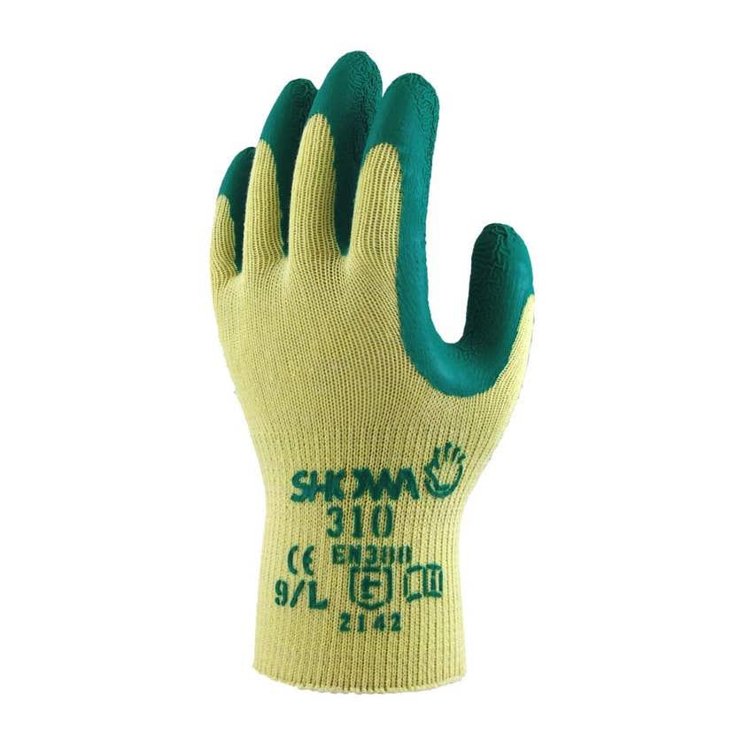Showa Gardening Gloves X-Large Green 310