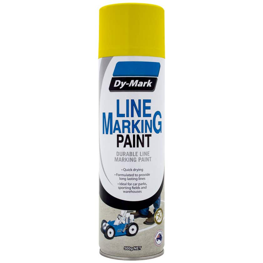 Dy-Mark Line Marking Paint Yellow 500g