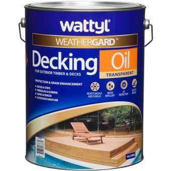Wattyl Weathergard Decking Oil Natural 10L