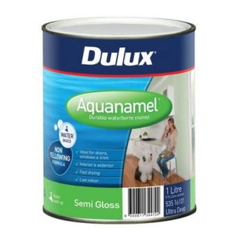 Dulux Aquanamel Semi Gloss Ultra Deep Base 1L
