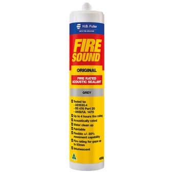 H.B. Fuller Firesound Acoustic Silicone Sealant Grey