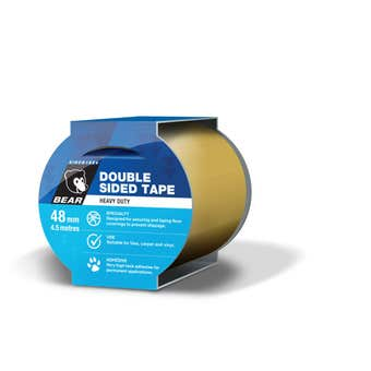 Bear Double Sided Tape 48mm x 4.5m