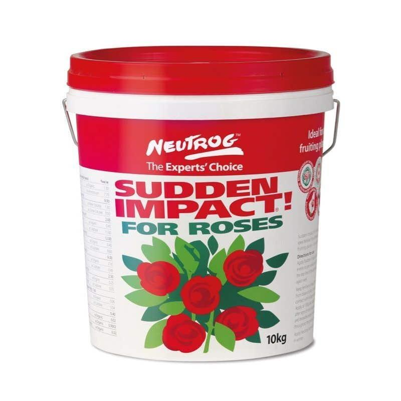 Neutrog Sudden Impact For Roses Fertiliser 10kg
