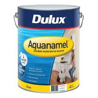 Dulux Aquanamel Gloss Vivid White 10L