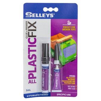 Selleys All Plastic Fix Glue and Primer 3ml