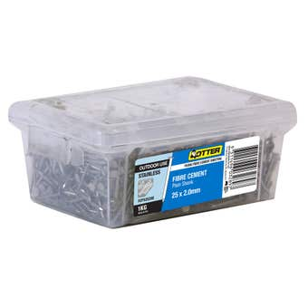 Otter Fibre Cement Nail 316 Stainless Steel 25 x 2mm 1kg