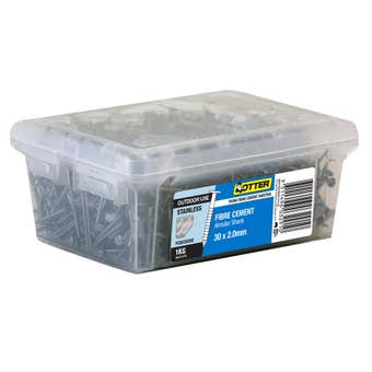 Otter Nail Fibre Cement 316 Stainless Steel 30 x 2mm 1kg