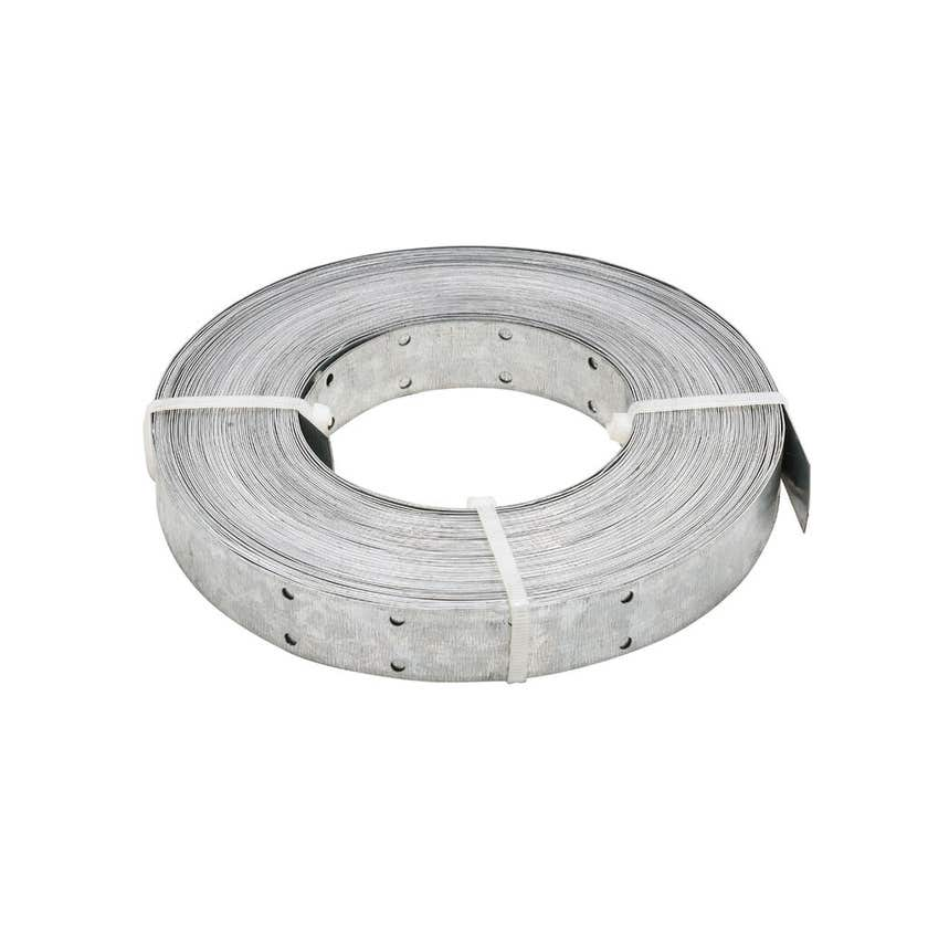 Pryda Hoop Iron 0.6 x 25mm x 30m Punched Coil 1