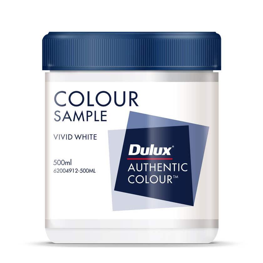Dulux Sample Pot Vivid White 500ml