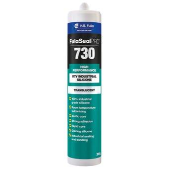 HB Fuller FulaSeal PRO 730 Silicone Translucent 300g