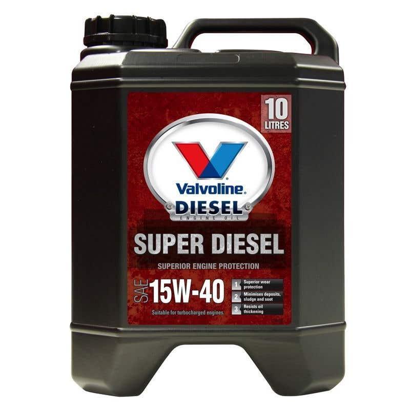 Valvoline Super Diesel 15W-40 10L