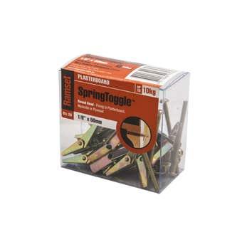 Ramset SpringToggle Round Med 3 x 50mm - 20 Pack