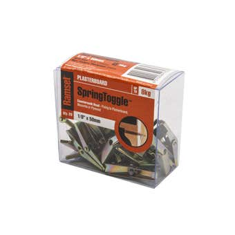 Ramset SpringToggle Countersunk 3 x 50mm0 - 20 Pack