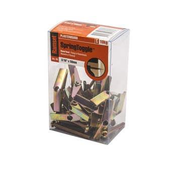 Ramset SpringToggle Round Head 5 x 50mm - 20 Pack