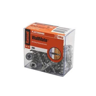 Ramset WallMate Zinc 10kg - 20 Pack