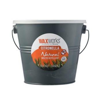 Waxworks Citronella Bucket Candle 2L