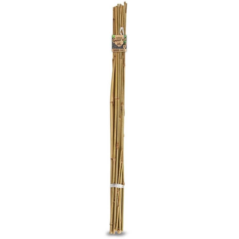 Gardman Bamboo Cane 1.2m - 20 Pack