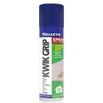 Selleys Kwik Grip Spray Adhesive 350g
