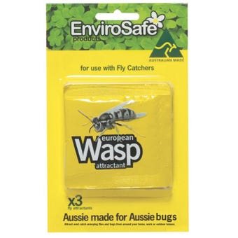 EnviroSafe European Wasp Attractant - 3 Pack