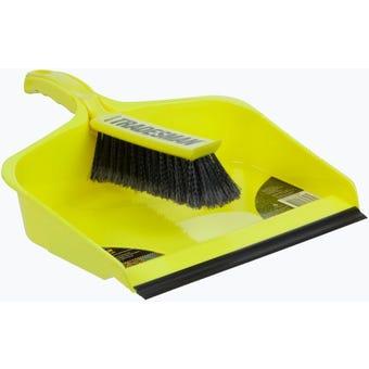 Tradesman Dustpan & Brush Set Extra Large