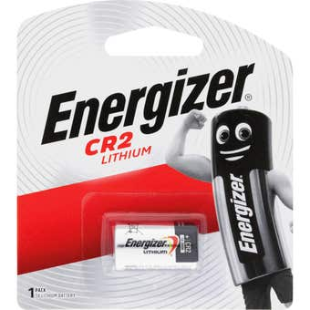 Energizer CR2 Lithium Photo Battery 1 Pack