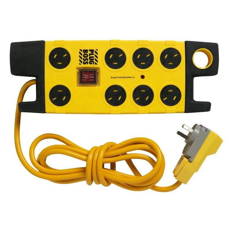 HPM Plug Boss Powerboard 8 Outlet