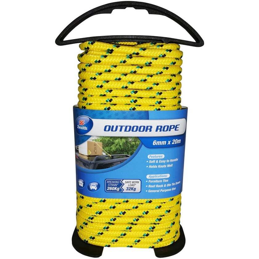 Zenith Outdoor Rope 6mm x 20m