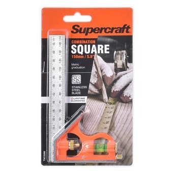 Supercraft Square Combination 150mm