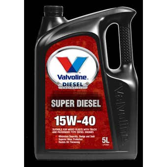 Valvoline Super Diesel 15W-40 5L