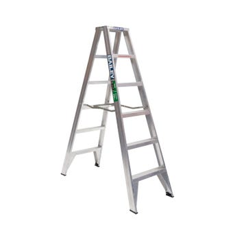 Bailey Trade Aluminium Double Sided Ladder 1.8m 150kg Industrial
