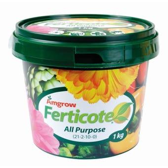 Amgrow Ferticote All Purpose Fertiliser 1kg