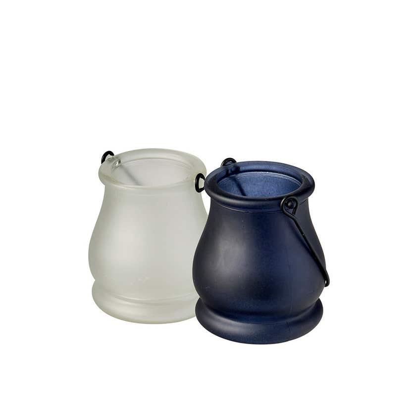 Waxworks Citronella Glass Jar with 6 Tea Lights