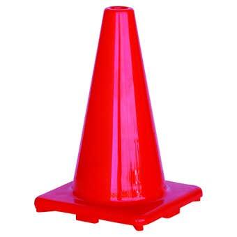 Traffic Cone Hi-Vis Orange 450mm