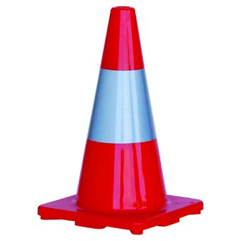 Traffic Cone Hi-Vis Reflective Tape 450mm