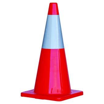 Traffic Cone Hi-Vis Reflective Tape 700mm