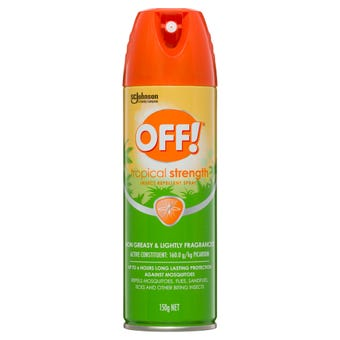 Off! Insect Repellent Aerosol Spray Tropical Strength 150g