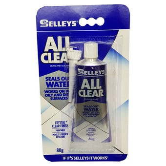 Selleys All Clear Sealant 80g