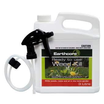 Earthcore Weed Kill Glyphosate Spray 3L