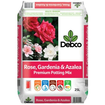Debco Rose, Gardenia & Azalea Premium Potting Mix 25L