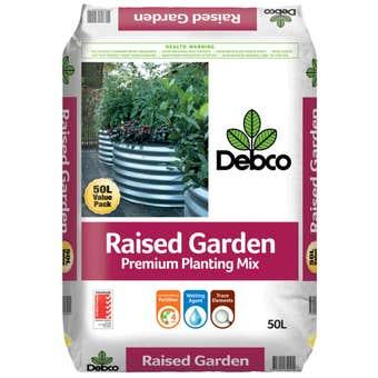 Debco Raised Garden Premium Planting Mix 50L