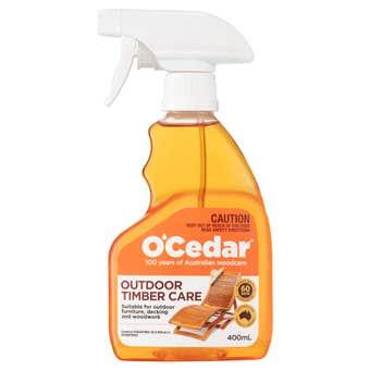 O'Cedar Outdoor Timber Care 400mL