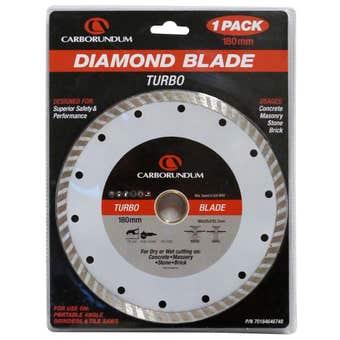 Carborundum Blade Diamond Turbo 180 x 25.4/22mm