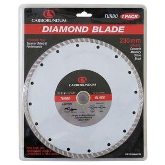 Carborundum Turbo Diamond Blade 230mm