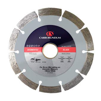 Carborundum Segmented Diamond Blade 115 x 22.2/20mm